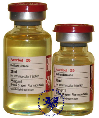 Averbol 25 (Methandienone)10 ml 25mg