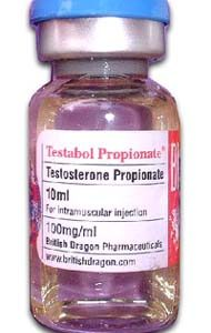 Testabol Propionate 10ml vial contains 100mg
