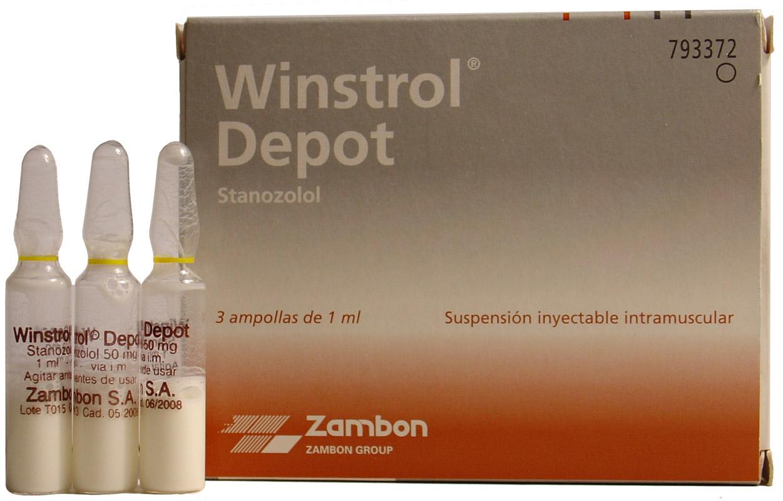 Winstrol Depot (Stanozolol) 50 mg